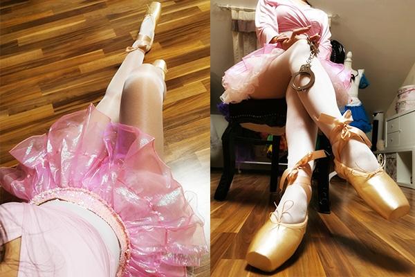 Wunderschöne Ballerina erzieht dich zur Sissy